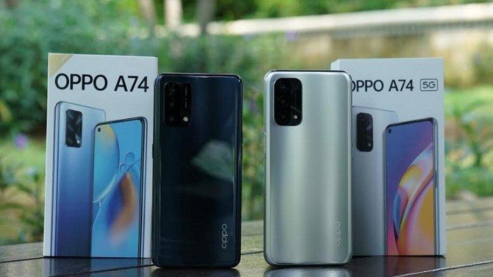 Harga Selisih Rp 200.000, Ini Beda Keunggulan dan Spesifikasi Oppo A74 dan Oppo A74 5G