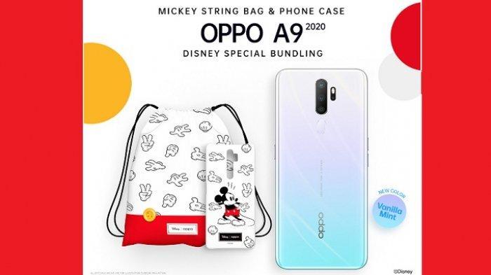 Dibuka, Flash Sale Oppo A9 2020 Disney Special Bundling, Ponsel Spesifikasi Tinggi Harga Terjangkau