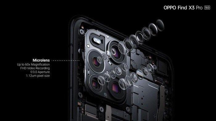 Menengok Fitur Kamera Mikrolens Oppo Find X3 Pro, Zoom hingga 60 Kali, Memotret Detail bak Mikroskop