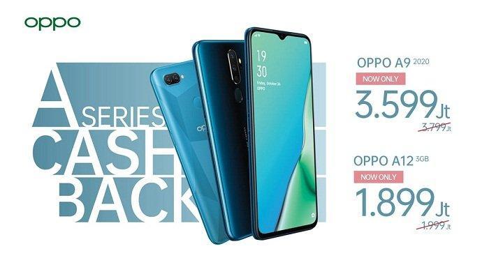 Bidik Anak Muda, Ini Cashback Oppo A9 2020 dan Oppo A12 3GB, Ponsel Canggih Harga Terjangkau