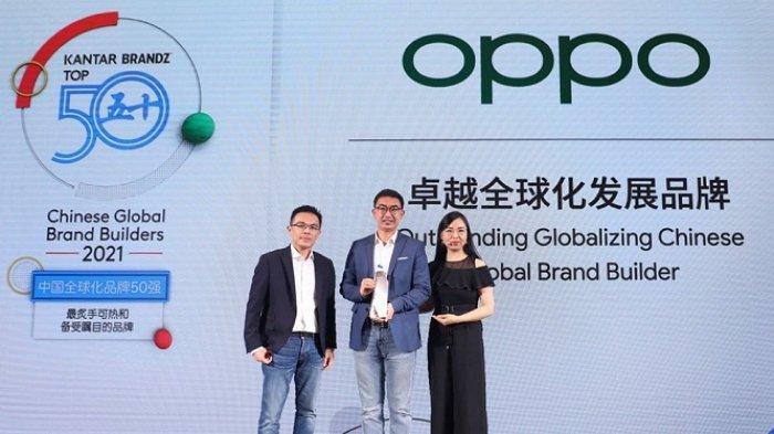 Peringkat 6 dari 50 Brand Teknologi Terbaik Dunia Asal China, Oppo Nomor 2 di Negara Berkembang