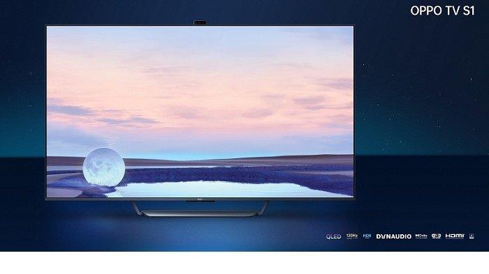 Smart TV Oppo Berkamera Pop-up Rilis Bareng Earphone dan Jam Tangan Pintar, Ini Keunggulan dan Harga