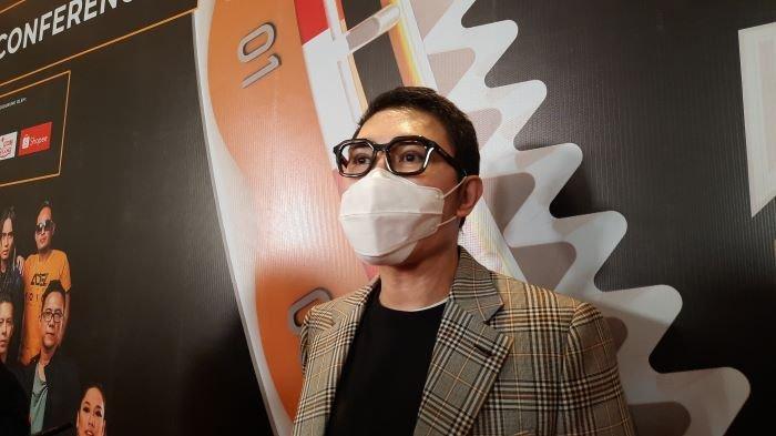 Vice President Director ANTV Otis Hahijary di The Groove Suites, Epicentrum Walk, Kuningan, Jakarta Selatan, Kamis (18/3/2021).