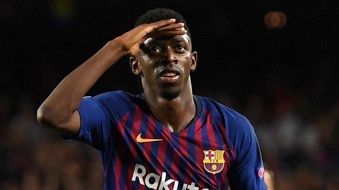 Osumane Dembele Bersedia Tinggalkan Barcelona Januari Ini