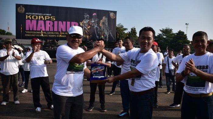 Dankormar Hadiri Acara Bakti Sosial Pajero Indonesia One