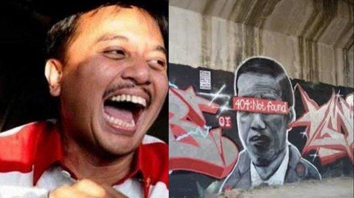 Setelah Mural Dihapus, Kini Poster Dirampas, Roy Suryo: Rakyat Sampaikan Aspirasi malah Ditangkap