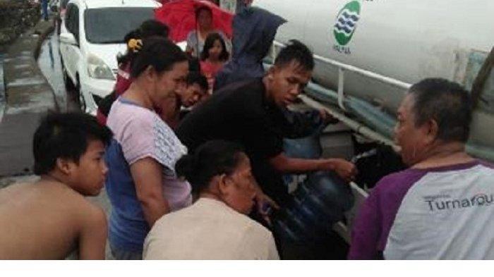 Hari Ini Palyja Sudah Distribusikan Air Bersih ke 38 Posko Pengungsian Banjir di Jakarta