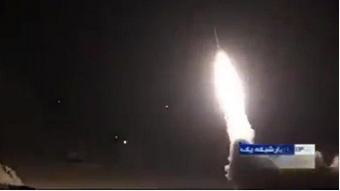 Inilah Detik-detik Serangan Rudal Iran ke Pangkalan Militer AS di Irak