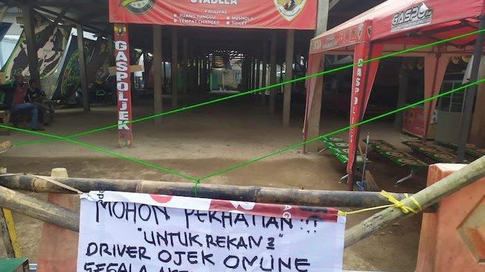 Shelter Ojol di Stasiun Depok Lama di Tutup, Sejumlah Penghasilan Pengemudi Ojol Turun Drastis