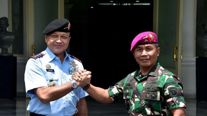 Dankormar Terima Kunjungan Pangkogabwilhan II