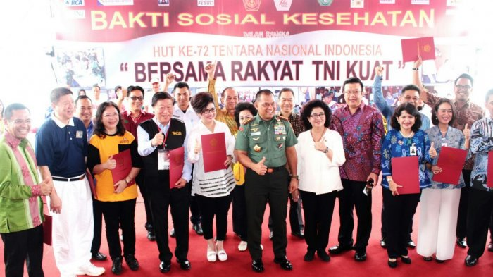 Hari Jadi TNI, Panglima Gelar Baksos Bersama Walubi di Cilegon