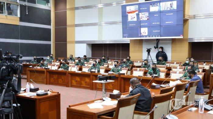 Rapat dengan Komisi I DPR, Panglima TNI Ungkap Rasa Kehilangan Atas Gugurnya Awak KRI Nanggala-402