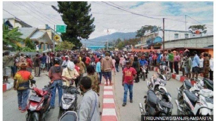VIRAL Foto Leher Anggota Polisi Tertancap Panah di Papua Masih Hidup Hingga Sosok Serda Rikson Gugur