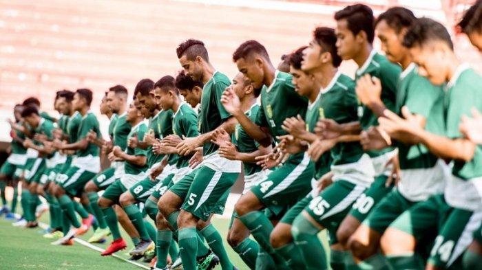Skuat Persebaya Fokus Latihan Fisik Jelang Laga Babak 8 Besar Piala Indonesia Kontra Madura United