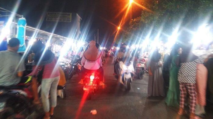 Zona Merah Covid-19, Pasar Malam di Tangerang Buka Tanpa Perhatikan Porokol Kesehatan