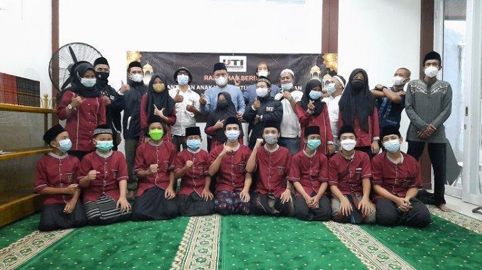 Wujud Mendorong Perkembangan Hafiz Qur'an, IJTI Kota Tangsel Gelar Kegiatan Santunan