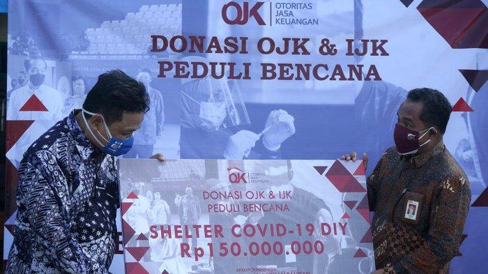 FOTO : OJK Bantu Penanganan Covid-19 Di Yogyakarta
