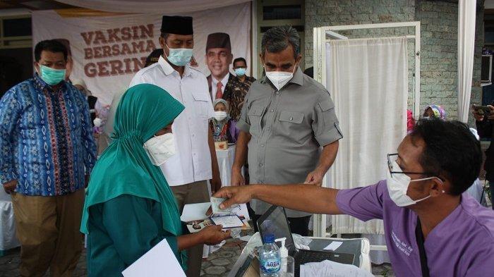 Pelaksanaan Vaksinasi Covid-19 di Lampung, Partai Gerindra Sediakan 20.000 Dosis Vaksin untuk Warga