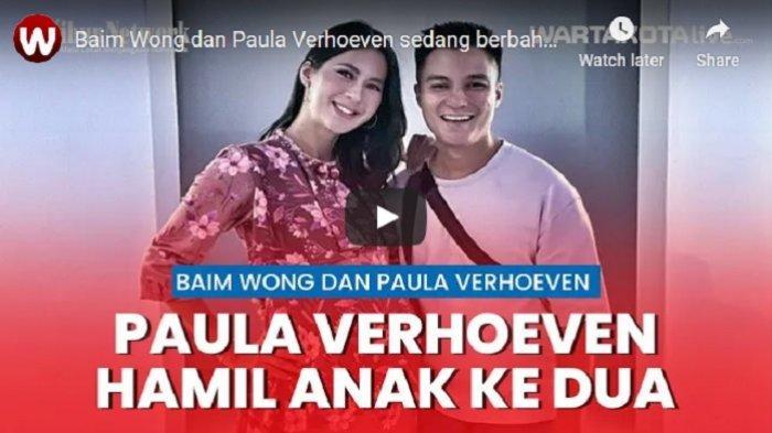 VIDEO Baim Wong dan Paula Verhoeven Kabarnya Akan Memiliki Anak Kedua