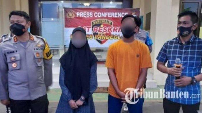 Ini Pasangan Kekasih Berbuat Mesum di Pemandian Cikoromoy, Mereka Meminta Maaf di Kantor Polisi