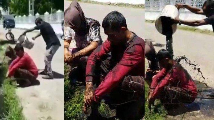 Viral Video Pasangan Selingkuh Kepergok Berhubungan Badan di Aceh, Langsung Dimandikan Air Got
