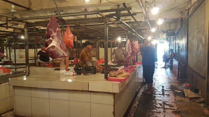 Harga Daging Sapi di Pasar Baru Bekasi Kembali Normal