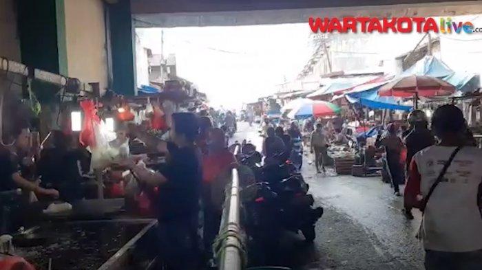 VIDEO: Peremajaan Pasar Ciputat Berimbas Relokasi Lapak Pedagang,Pedagang Ogah Pindah