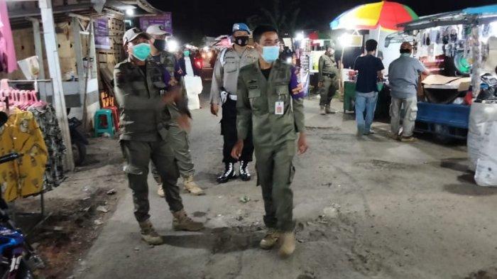 VIDEO Pasar Malam di Balaraja Tangerang Ditertibkan Aparat Satpol PP Demi Cegah Kerumunan