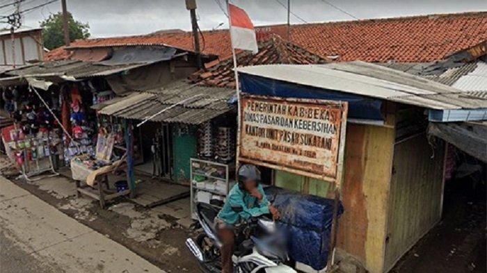 Pasar Sukatani Kabupaten Bekasi Kondisi Memprihatikan Harus Direvitalisasi