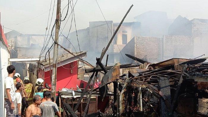 Korban Kebakaran di Rorotan Dengar Ledakan Dua Kali, Dikira Bohlam Meledak