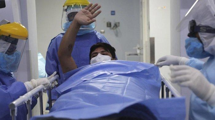 Wanita Terpapar Cavid-19 Kabur dari Rumah Sakit, Tinggalkan Bayi yang Baru Dilahirkan