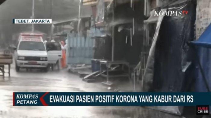 Lagi Pasien PDP Corona Kabur, Kali Ini WN Bulgaria Kabur dari RS, DItangkap Polisi di Sebuah Villa