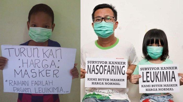 Warga Panik Virus Corona, Pasien Kanker Keluhkan Kosong dan Mahalnya Harga Masker