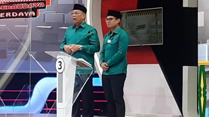 Debat Perdana Pilkada Tangsel, Benyamin-Pilar : Pertanyaan Panelis Sesuai Visi Misi Kami