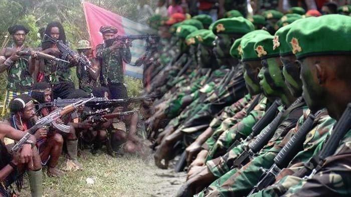 Lagi, Satu Prajurit TNI Gugur saat Kontak Senjata dengan KKB Papua di Intan Jaya, Ini Kronologinya