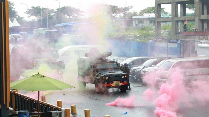 Asah Ketajaman Pasukan, Distrik 1 Meikarta Disulap Jadi Arena Urban Warfare Gegana KorBrimob Polri