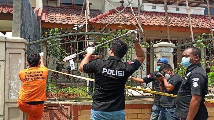 Rekonstruksi Pembunuhan Pasutri di Tangsel, Terungkap Begini Cara Pelaku Masuk Rumah WNA Jerman