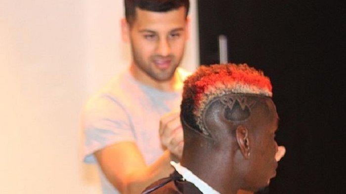 Ini Pria yang Bertugas Mengurus Rambut Paul Pogba