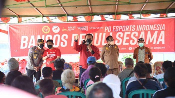 PB Esport Indonesia Gelar Vaksinasi dan Baksos untuk Warga Jayapura