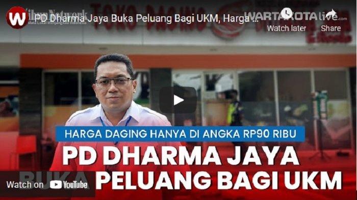 VIDEO PD Dharma Jaya Buka Peluang Usaha Bagi UKM, Harga Daging Hanya Rp 90 Ribu