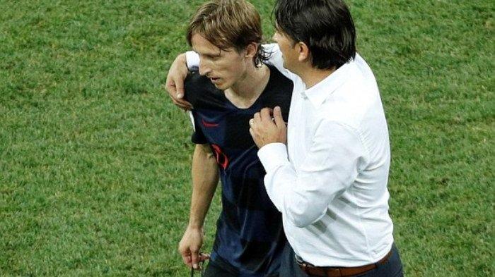 Luka Modric Puji Kepiawaian Zlatco Dalic