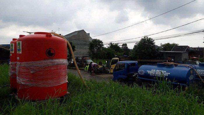 PDAM Tirta Benteng Kota Tangerang Distribusikan Air Bersih untuk Warga Terdampak Banjir