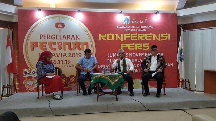 Disparbud DKI Jakarta Gelar Pergelaran Kolosal Etnis Tionghoa di Kota Tua Jakarta Barat