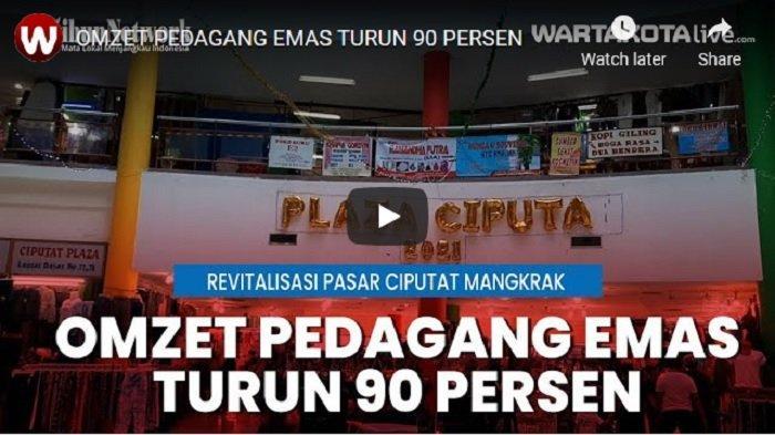 VIDEO Pedagang Pasar Ciputat Mengeluh Omset Anjlok, Minta Pemkot Tangsel Percepat Revitalisasi