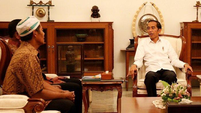 Pedagang Korban Kerusuhan Aksi 22 Mei Semringah Dibantu Modal oleh Jokowi, Bangga Bisa ke Istana