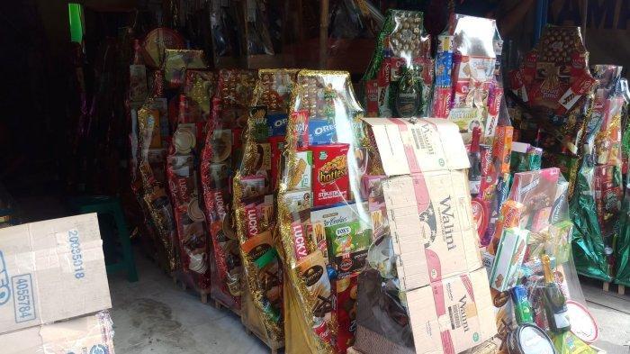 Pedagang Parcel Cikini Keluhkan Turunnya Minat Beli Parcel Tahun Ini