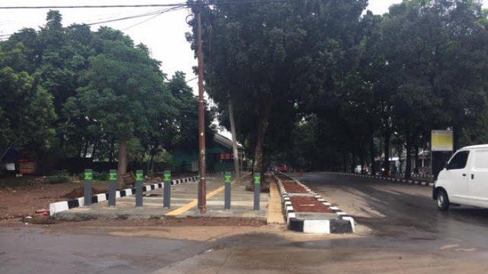 Proyek Pedestrian Pakansari Sudah Rampung, Begini Penampakannya