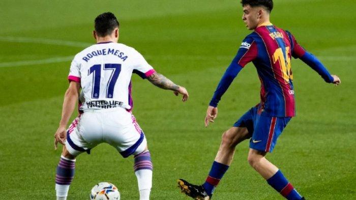 Hasil Babak Pertama Barcelona vs Real Valladolid 0-0, Lionel Messi dkk Kesulitan Cetak Gol