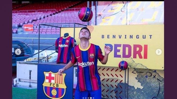 Profil Pedri, Darah Baru Barcelona, Masih Berusia 17 Tahun, Mengidolakan Andres Iniesta