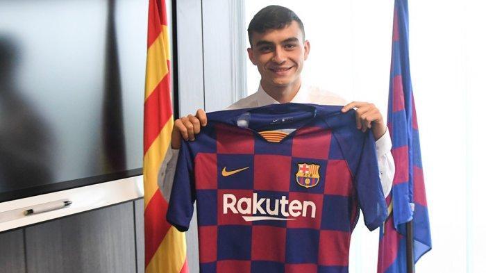 Pedri Pemain Muda Barcelona Senang Real Madrid Tidak Jadi Merekrutnya